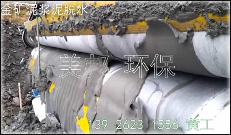 尾矿泥浆脱水处理设备