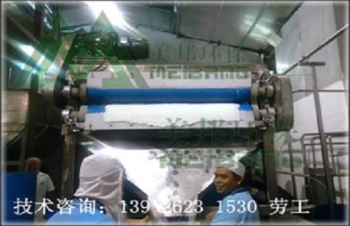 马来西亚椰子壳渣压榨脱水处理