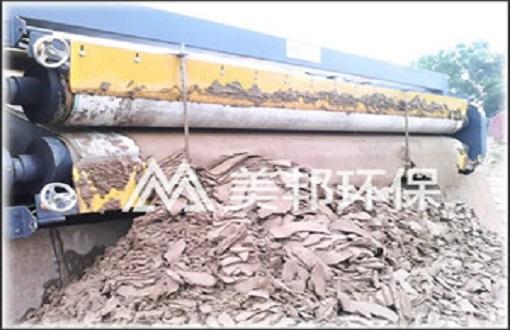 揭阳建筑打桩泥浆处理脱水设备案例