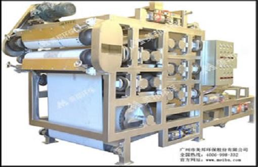 重型5组强力对棍压榨机
