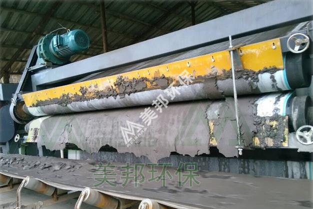江西铁矿尾泥脱水干排案例